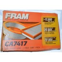 Fram Rigid Panel Air Filter #CA7417