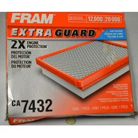 Fram Extra Guard 2X Engine Protection #CA7432 Air Filter - Flexible Panel