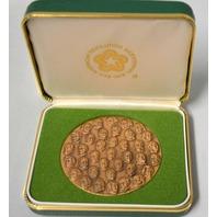 "Bicentennial Presidential Commemorative Coin.  2 1/2"" across. Very Rare and Collectible."