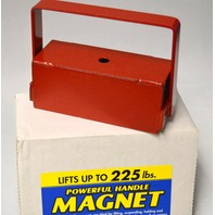"""Powerful Handle Magnet Lifts Up To 225 lbs. 2""""W x 5 3/8""""L x 4 1/2""""T. #07211"""