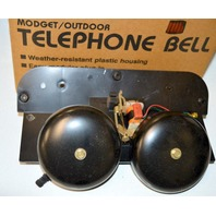 Loud Telephone Bell by Tel, Outdoor for factory, farm or industry. 61-171-03.