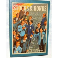 Stocks & Bonds Game - 1964 by 3M - Vintage Classic - Mint Condition.