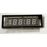 Heath Kit Digital Alarm Clock Display - #411-829, Futaba 5-LT - New