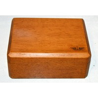 "Docker Box - Wooden box 5 1/2"" x 4 1/2""  x 2 1/4"" Tall. Nice."