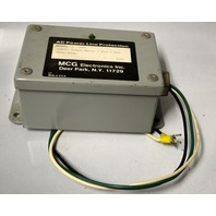 AC Power Line Protection Model 1201 - 120VAC, Single Phase, 2 Wire +Gnd. 50/60 Hz.