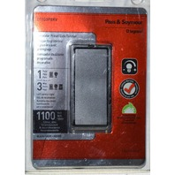 Pass & Seymour Harmony Decorator Preset Slide Dimmer #D1103PBKV 1100 Watt.