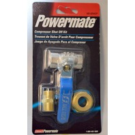 "Coleman Powermate 165-0254SP, 1/2"" to 3/8""-Shuts off air between the tank and piping system."