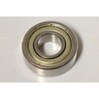 "1-Peer Bearing 7R6 R-Series Radial Bearing, Single Shield, 3/8"" ID, 7/8"" OD, 0.2812"" Width"