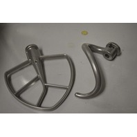 Kitchen Aide Accessories: Spiral Dough Hook and Flat Beater - New