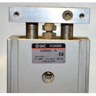 SMC Type CXSM20-75 Compact Type Dual Road Cylinder. No box.