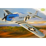 Mustang TW-748-2 Radio Control Airplane - FM 27 MHz - New (P-51)