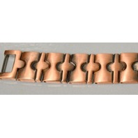 "Magnetic Copper Link Bracelet - 8 1/2"" long - 19 strong magnets - Men or Women."