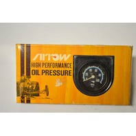 Arrow High Performance Oil Pressure Gauge-12 Bolt/self-illuninating easy to install. #1502
