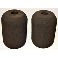 "Foam Rubber 6"" x 4"" O.D. used for weight equipment. - 2 pcs."