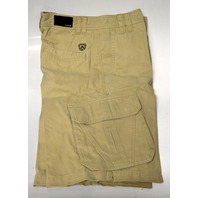 Avalon Men's Walkshorts - Cargo type - Khaki Color - Size 30 - Inseam 12""