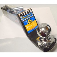 """Reese Inter Lock 3 1/4"""" Drop, 2"""" Rise #21543 Towpower with 2"""" ball -  4 Pc Set"""