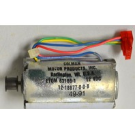 Colman Motor Products #EYQM 83186-1 Small motor. 2""