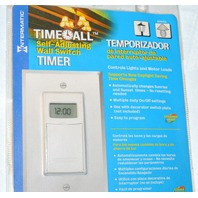 Intermatic Time-All Self-Adjusting Wall Switch Timer #ST01