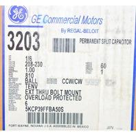 GE #5KCP39FFBA50S BLOWER MOTOR 1/6HP 208-230V 825RPM 1PH