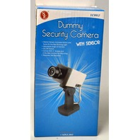 Dummy Security Camera w/Sensor #FC9957, by SE.