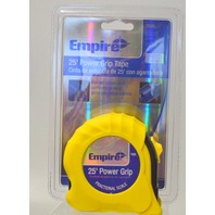 """Empire 1"""" x 25' Power Grip Tape, Fractional Scale, #7526."""
