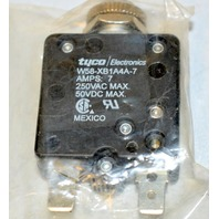 tyco/Electronics W58-XB1A4A-7-Amps:7 250VAC Max, 50 VDC max. Circuit breaker