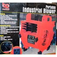 Industrial Blower - Portable 3 speed, adjusts air directions, moves air up to 300 cfm