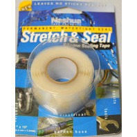 "Nashua ""Stretch & Seal"" Permanent, Waterproof Seal - 1"" x 10' - Clear"