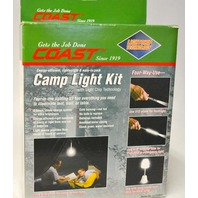 Coast - Camp Light Kit-Four in one lighting kit to illuminate tent,trail or table.