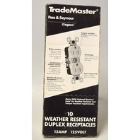 Pass & Seymour TradeMaster legrand-10weather resistant Duplex Receptacles 15A