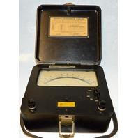 Weston DC 5-500 Microammeter Microamperes-Model 622 - 1961 Vintage