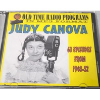 "Old time radio shows-in MP3 format-""Judy Canova"" 63 Episodes, from 1943-1952"