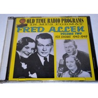Old time radio shows-in MP3 format - Fred Allen - Vol. 2  - 1942-1949