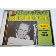 """Old time radio shows-in MP3 format-""""Suspense"""" 62 Episodes, Vol.1, 1940-1943"""