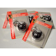 "Shepherd 2"" Ball Caster - Set of 5 - Great for office Chair. Silver w/black ball."
