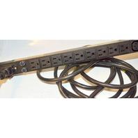 "HP #E7675-63001 /10 Outlet 19"" Rackmount Power Distribution Unit"