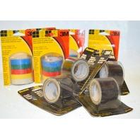"3M Scotch Cloth Utility Tape 1.5"" x 144"", Vinyl electrical tape 1/2"" x 20'-5 pks. of both"