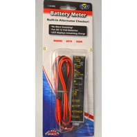 Boaters Sports 51004 Battery Meter with built in Alternator Checker.