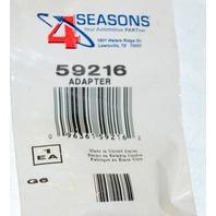 4Seasons #59216 AC Vacuum Pump Retrofit Tee Fitting