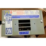 Square D PIN-Q0 60A 3PH 4W 240V Breaker Bus Plug PINQO Busway Switch Buss