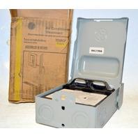 GE Model TF30R Puller type Air Conditioner Disconnect Steel Enclosure Nema 3R