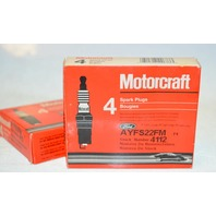 Motorcraft Spark Plugs - 2 boxes of 4 - #4112