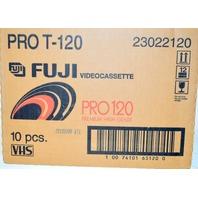 Fuji Videocassette Pro T -120 - 10 VHS - 6 hr. tapes.