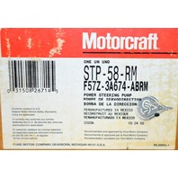 Motorcraft STP-58-RM - Remanufactured Power Steering Pump