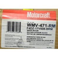 Motorcraft WMV-471-RM Windshield wiper Motor front - Remanufactured