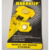 120 Magnetic Tape Measure Attachments by Magnatip - New in Box.
