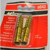 """Milton #s642 Brass Hose Minder 3/8"""" po - 2 park"""