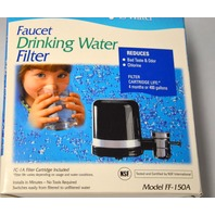 "Culligan Drinking Water Faucet Filter - Black - Model FF-150  ""A-FC-1A Included"""