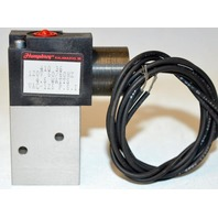 Humphrey 410 36 Solenoid Valve 120V, 50/60Hz, 4.5 Watts VAC,125 PSI New