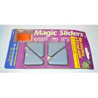 "Magic Sliders #04557 4 pack, 2""x2""x1/2"" Triangle-Won't scratch floors."